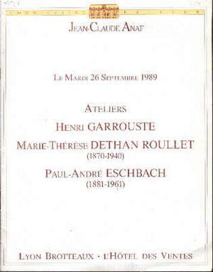 Vente de 1989 de Anaf à Lyon