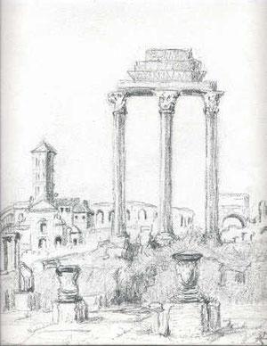 Les Vestales à Rome.