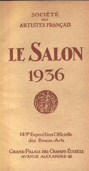 Catalogue de l'exposition de 1936.