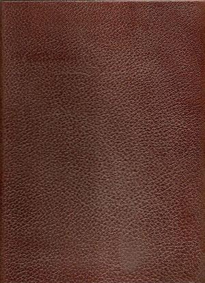 Impressions de Sienne, Grand cartonnage pleine reliure cuir, impression de 29 dessains au fusain et édité à 100 exemplaires.