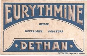 Buvard Eurythmine.