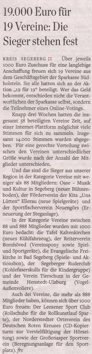Hamburger Abendblatt 29.04.2019