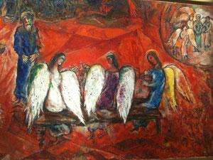 Abraham et Sarah reçoivent trois anges
