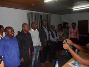 membres du bureau de coordination de la plateforme REDD