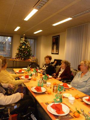 Goûter de Noël - décembre 2012