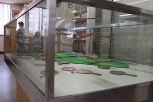 図書館おでかけプロジェクトミニ 展示の様子