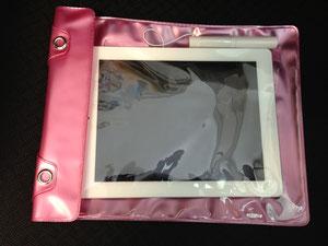 iPad防水ケーススピーカー付