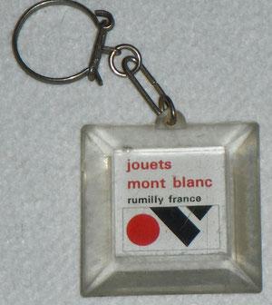 Porte Clé Jouets Mont Blanc