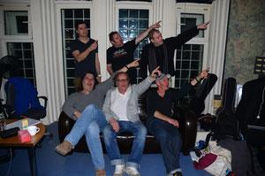 l.oben n. r. unten: Massimo Buonanno, Oliver Utzt, Oliver Laib, Samson Geiger, James Herter, Rolf Kersting
