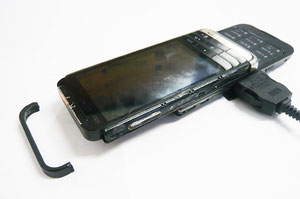 こわれた携帯