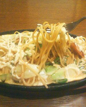 鉄板スパゲティのジャパン