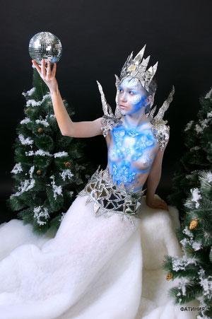 модель Валерия, body-art Фатиния