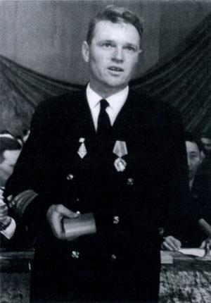 Вручение Слабожанину Н.Н. ордена Ленина. 1966 г.