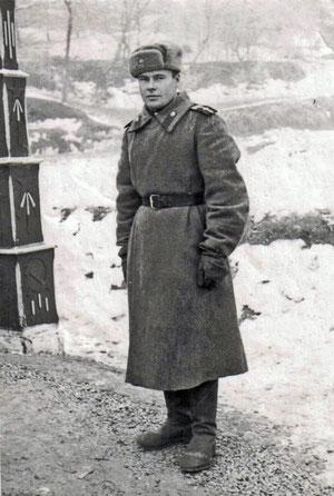 Баженов Анатолий Максимович. Румыния, 1946 г