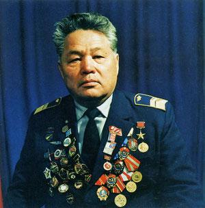 летчик В.И.Кузмин