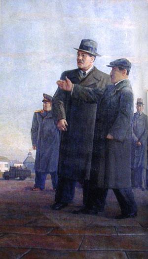 В.М. Молотов в Якутске.  П.П. Романов.