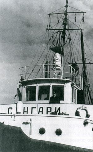 Ледокол «Сунгари» 1962 год. Якутия