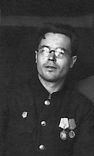 Михаил Васильевич Ярыгин. 40- е годы