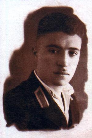 Ширинян – курсант школы пилотов. 1943 год.