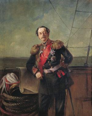 Губернатор Восточной Сибири Н. Н. Муравьев-Амурский 1863 год