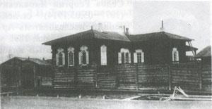 Дом Романова по ул. Полицейской в Якутске