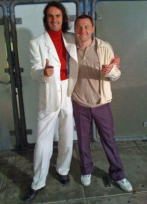 """KALASCH and me - Setfoto vom 4.08.2011 bei der Produktion der Spiegel TV Dokumentation """"MÜNCHEN 72"""""""
