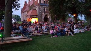 Kino unterm Sternenhimmel in Golzowe Feuerwehr