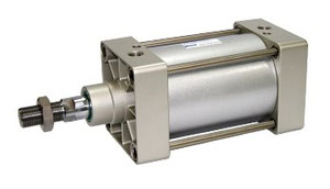 cilindro iso 15552 doppio effetto, magnetico, a tiranti alesaggio da 125mm a 250mm.