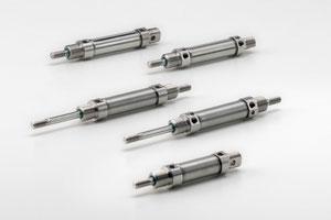 microcilindri iso 6432 inox, mini cylinder iso 6432 stainless steel, kompaut marnate, milani, varese, como, lombardia, italia italy,