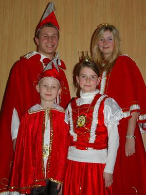 Unsere Prinzepaare