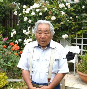 バラに人生をかけて・・井野元さん