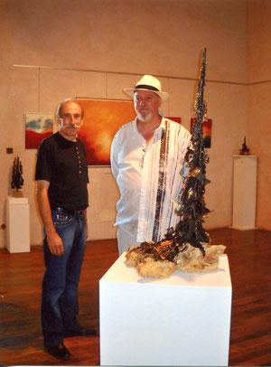 avec le sculpteur françois bagioli - 2009