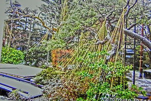 萬歳楽の庭園