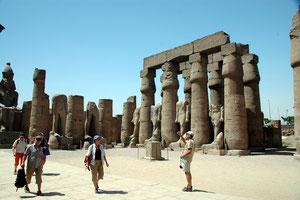 Karnak Tempel in Assuan