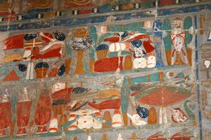 Im Tempel von Hatschepsut