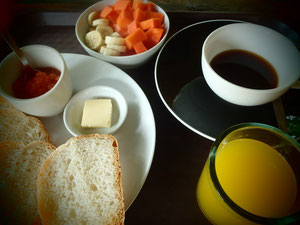 Philippines, Camiguin, Nypa Style Resort, Breakfast