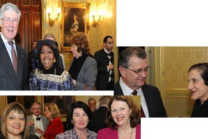 'Friends of the Commonwealth' at the launch in Government House