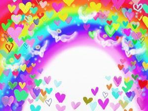 Rainbow&Heart
