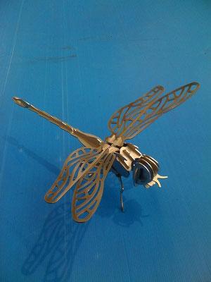 Libelle aus Edelstahl