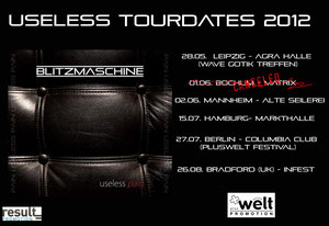 BLITZMASCHINE Useless tour!