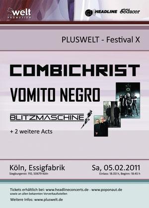 BLITZMASCHINE Pluswelt Festival X