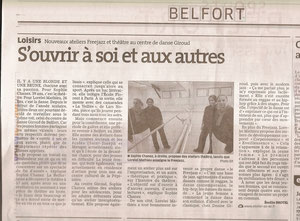 Article Est Républicain 15/11/12