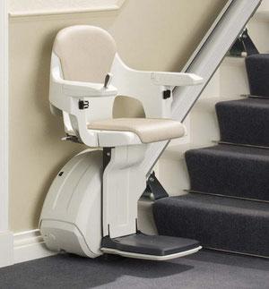 Treppenlift gerade Treppe