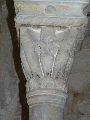 Capitel de la época de los cruzados. Cenáculo. Jerusalén