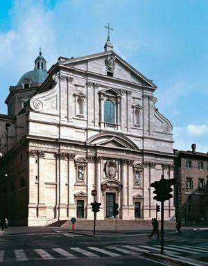 Iglesia del Gesú. Roma.