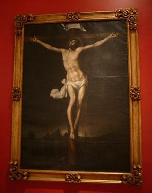 Sebastian López de Arteaga, español activo en Nueva España, Cristo en la Cruz 1640 , Museo Nacional de Arte de Méjico