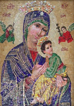 Virgen del Perpetuo Socorro- Imagen cedida por blaeu mosaic.comc