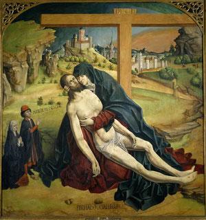 La Piedad.Fernando Gallego 1470.Museo del Prado