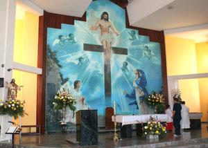 Santa Maria de la Cruz.Imagen cedida por Blaeu-mosaic.com