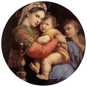 Virgen de la Silla .Rafael. Palacio Pitti